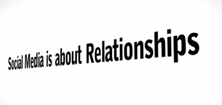 social media is about relationships
